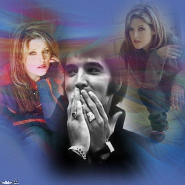Good!!! I just closed my eyes...And you grew beautiful ♥ - Elvis Aaron Presley and Lisa Marie Presley Photo (26850700) - Fanpop