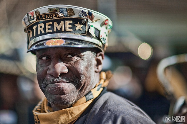 Treme! Second Line Time!