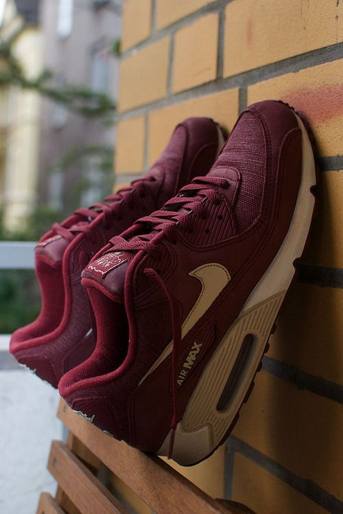 Air Max 90 Bordeaux Red