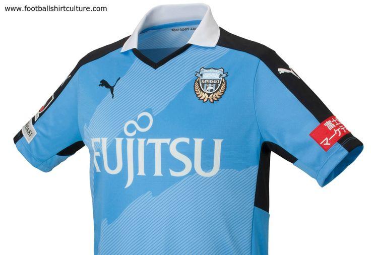 Kawasaki Frontale 2015 Puma Home Football Shirt | 15/16 Kits | Football shirt blog