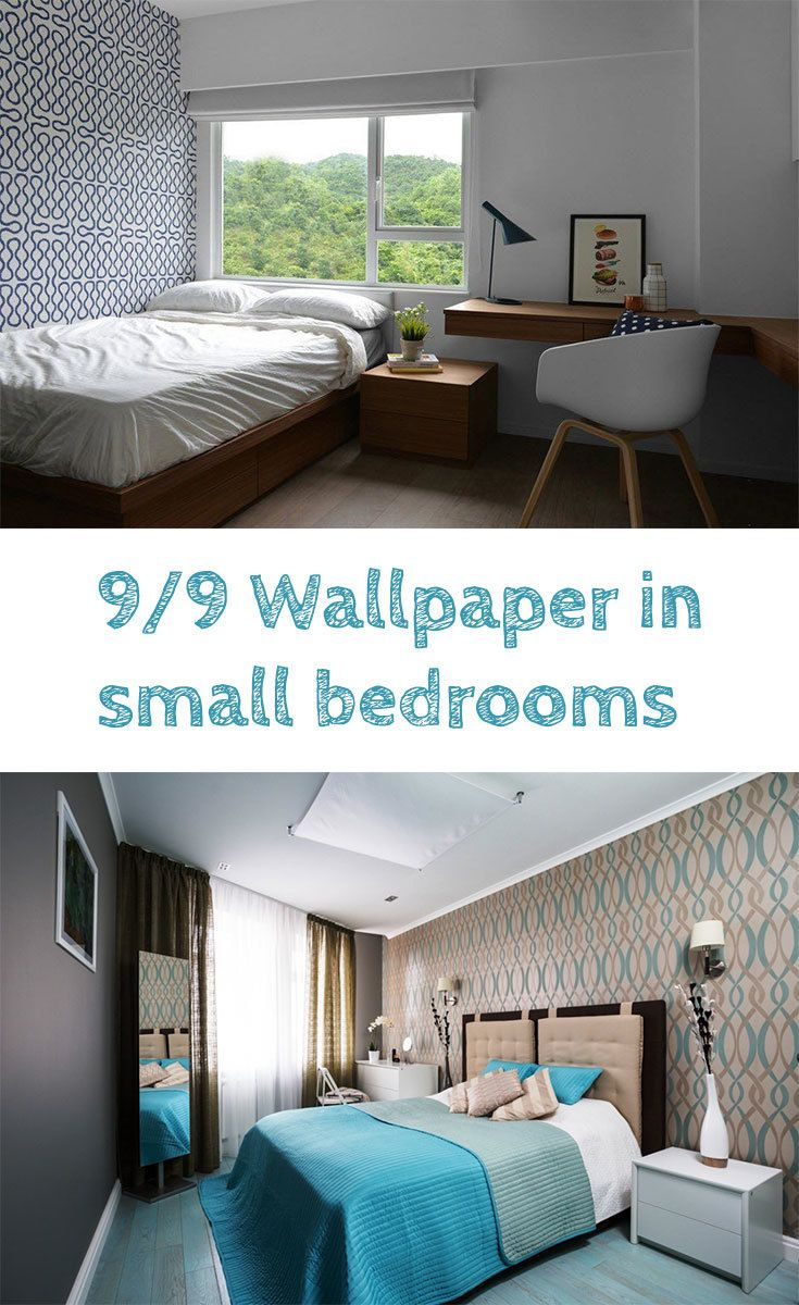 9 Small Bedroom Color Ideas 35 Photos Accent Wall Paint Combinations Small Bedroom Colours Small Bedroom Bedroom Colors