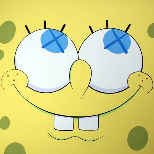 KAWS, Untitled (image of SpongeBob)