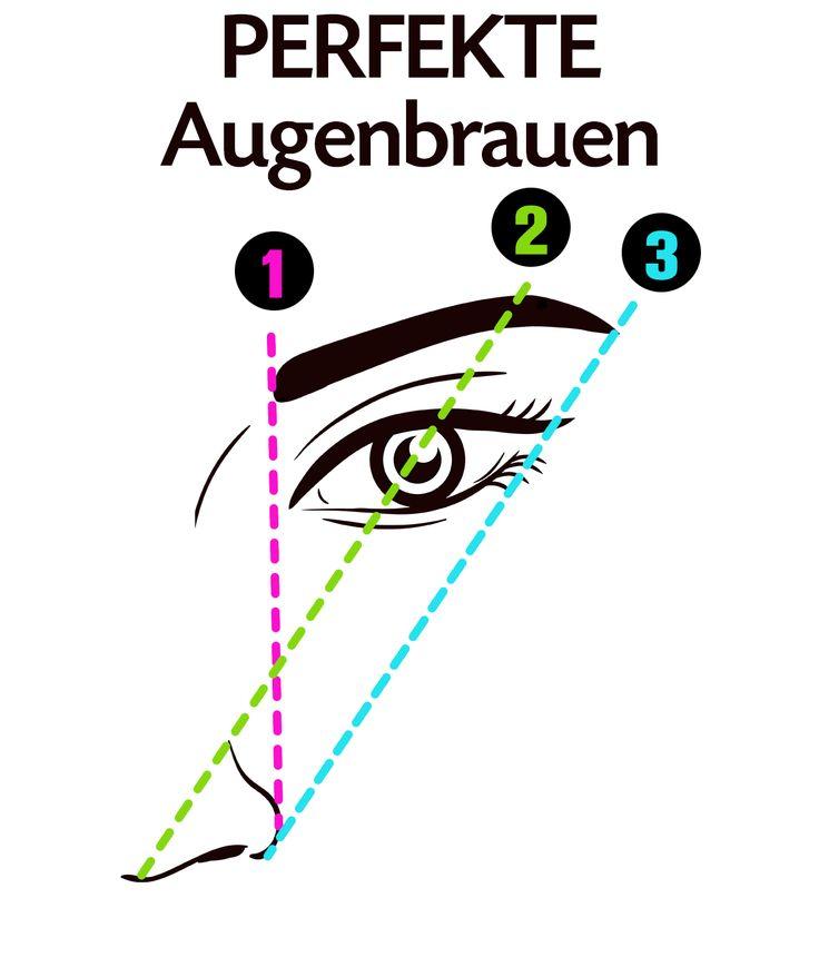 Beauty-Trick: So findest du die perfekte Augenbrauen-Form