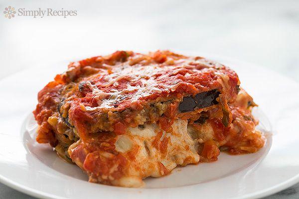 Eggplant Parmesan by simplyrecipes #Eggplant_Parmesan