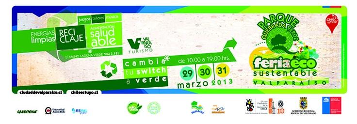 Primera Feria Ecosustentable 2013 en #Valparaíso 29, 30 y 31 de marzoZona Avisos