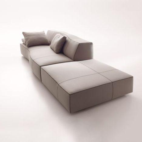Bend-Sofa, ontwerp van Patricia Urquiola voor B&B Italia www.meijerwonen.nl www.bebitalia.it