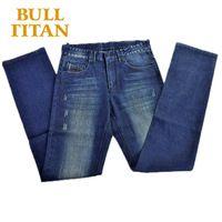 Men Jeans 2015 Hot Sale Mens Fashion Regular Straight  Homme Denim Jeans For Men Pantalones Vaqueros Hombre Marca BULL TITAN