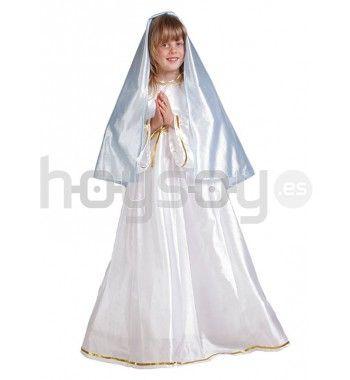 #Disfraz de #Virgen #María perfecto para estas #Navidades #Navidad #Disfraces #Carnaval