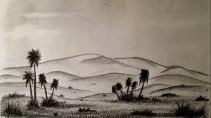Resultado de imagen para paisajes para dibujar a lapiz