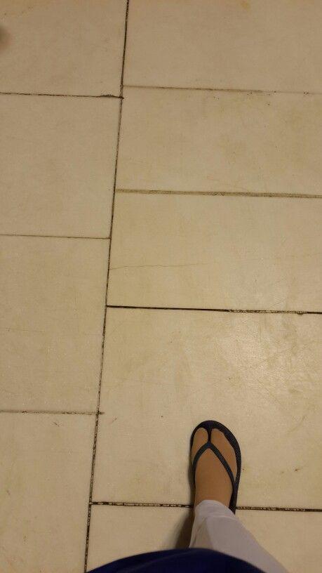 My footsteps at Masjidil Haram, Makkah