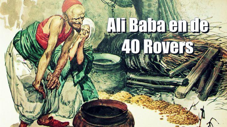 Ali Baba en de 40 Rover - Het luistersprookje Ali Baba en de 40 Rovers uit de vertellingen van Duizend en een nacht voorzien van illustraties uit de Lekturama Wereldberoemde Sprookjes boekenserie.