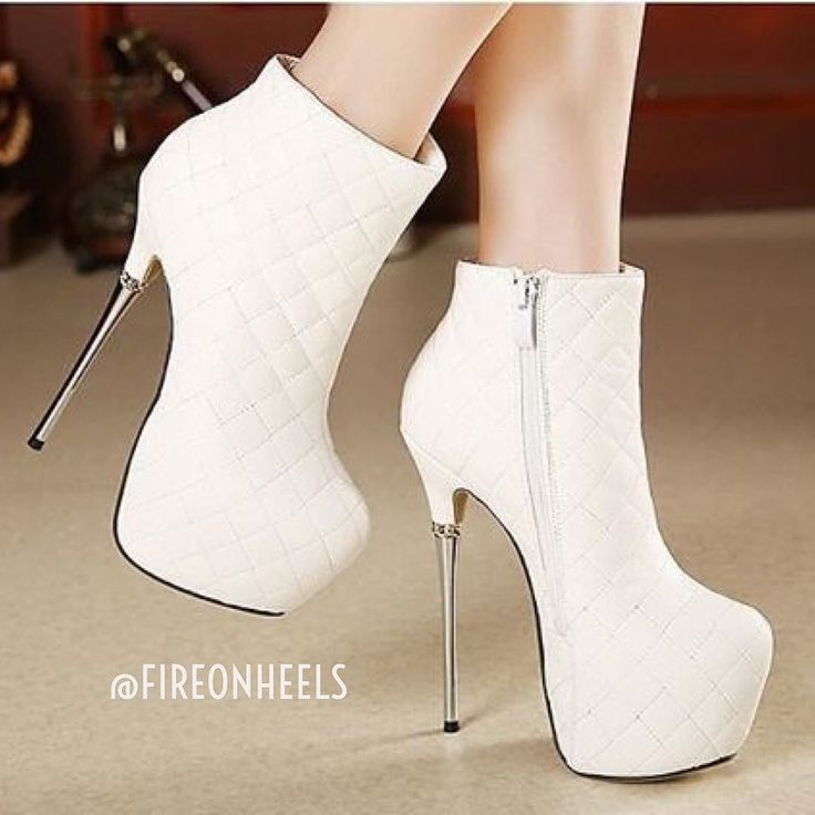 White Heel #Boots  Yay or Nay?  @fireonheels