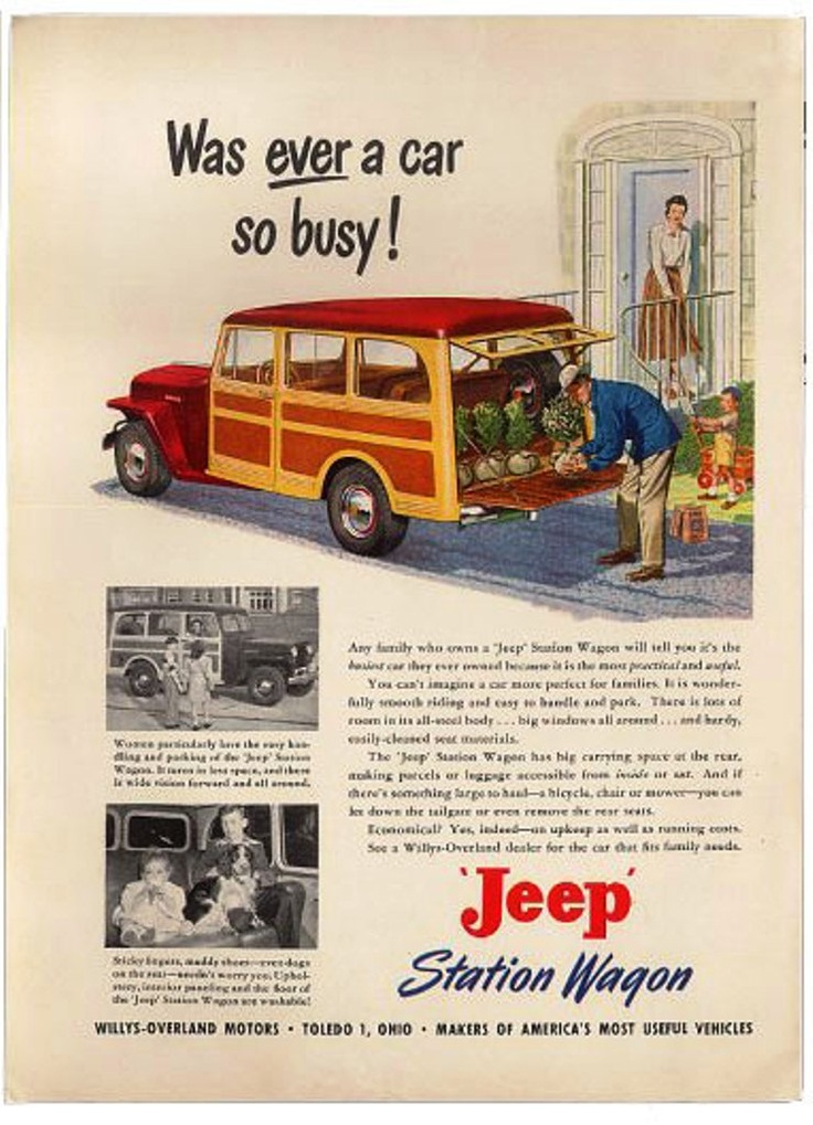 1949 Willys Overland Jeep Wagon