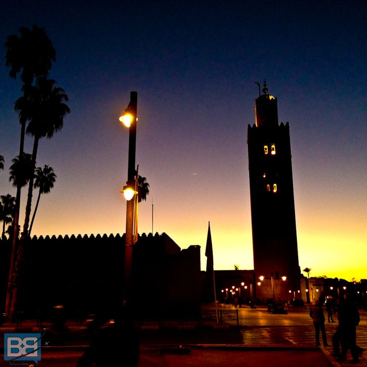 Marrakech Sunset, Morocco