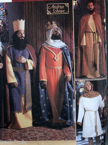 three wise men costumes