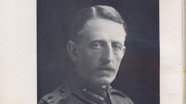 General Walter Congreve...WW1 Christmas truce letter found in Staffordshire