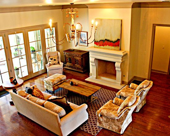 1000 images about furniture arrangement aroud fireplace for Living room furniture arrangement with fireplace