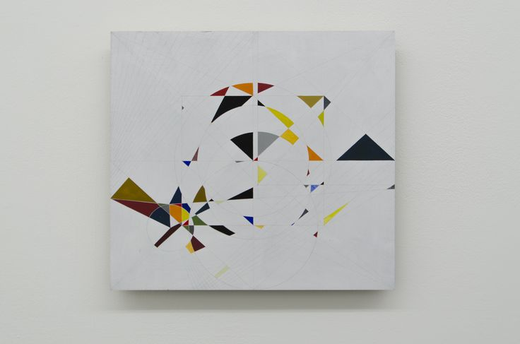 Sarah Chilvers - UNTITLED (BC_SC2016_22), 2014-2016, Gouache on plywood, 30.1x33.2 cm