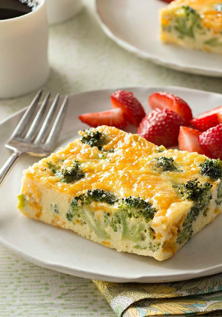 Easy Broccoli-Cheese Oven Omelet – This cheesy oven-baked broccoli omelet may just be the easiest omelet you've ever made. It will certainly be one of the tastiest!