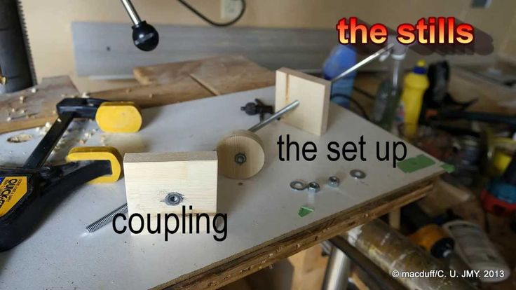 ready rod clamp/ shop made