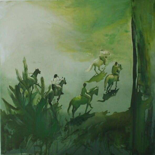 Out of the forest, 100/100cm,2011