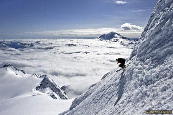 Extreme Backcountry Skiing Images by Jason Hummel