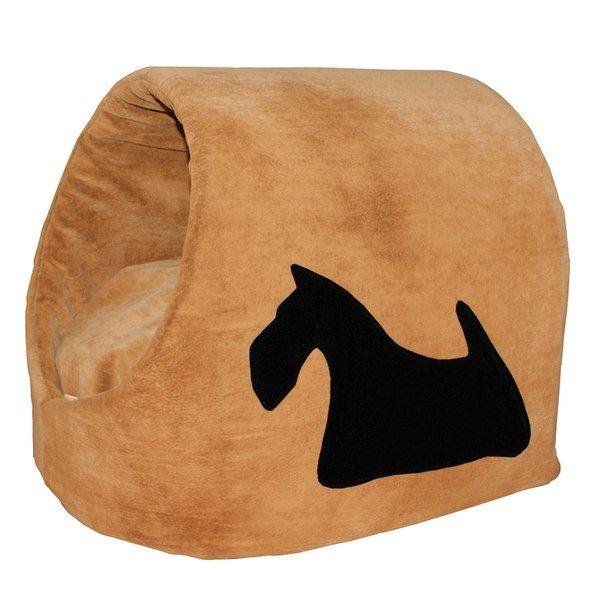 """Флоковая Лежанка """"Домик"""" для собачки с апликацией. В комплекте мягкий съемный матрасик. Цена: 1 350 руб. #Вигвам, #Гамак, #Зоотовары, #Лежанки, #матрас, #кошки, #собаки, #питер #zoo #cat #dog #piter #rus #mimimi #house #spb"""