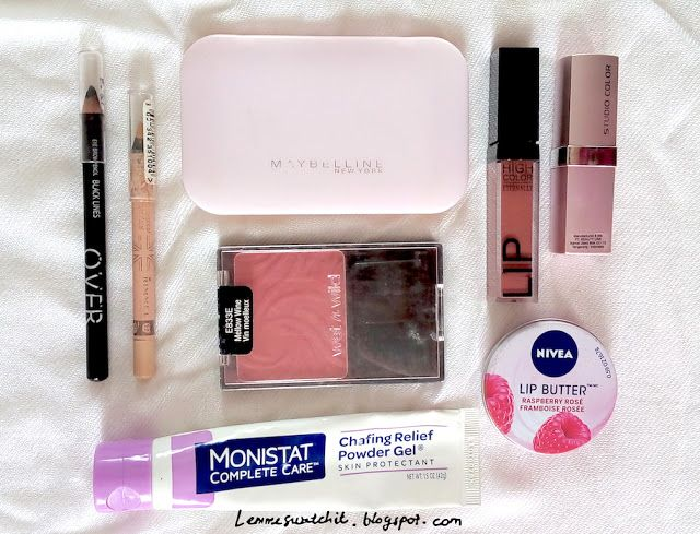 Lemme Swatch It!: What's In My Make Up Bag?