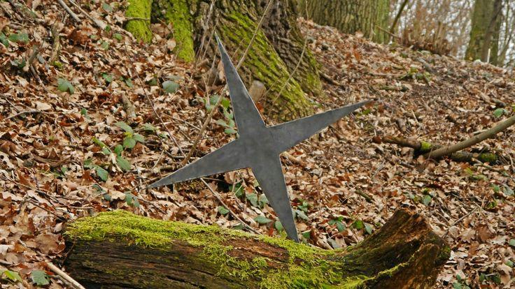 40 oz spring steel largest throwing star
