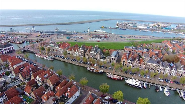 Havenstad #Harlingen #haven #Friesland #veerboten #waddenzee