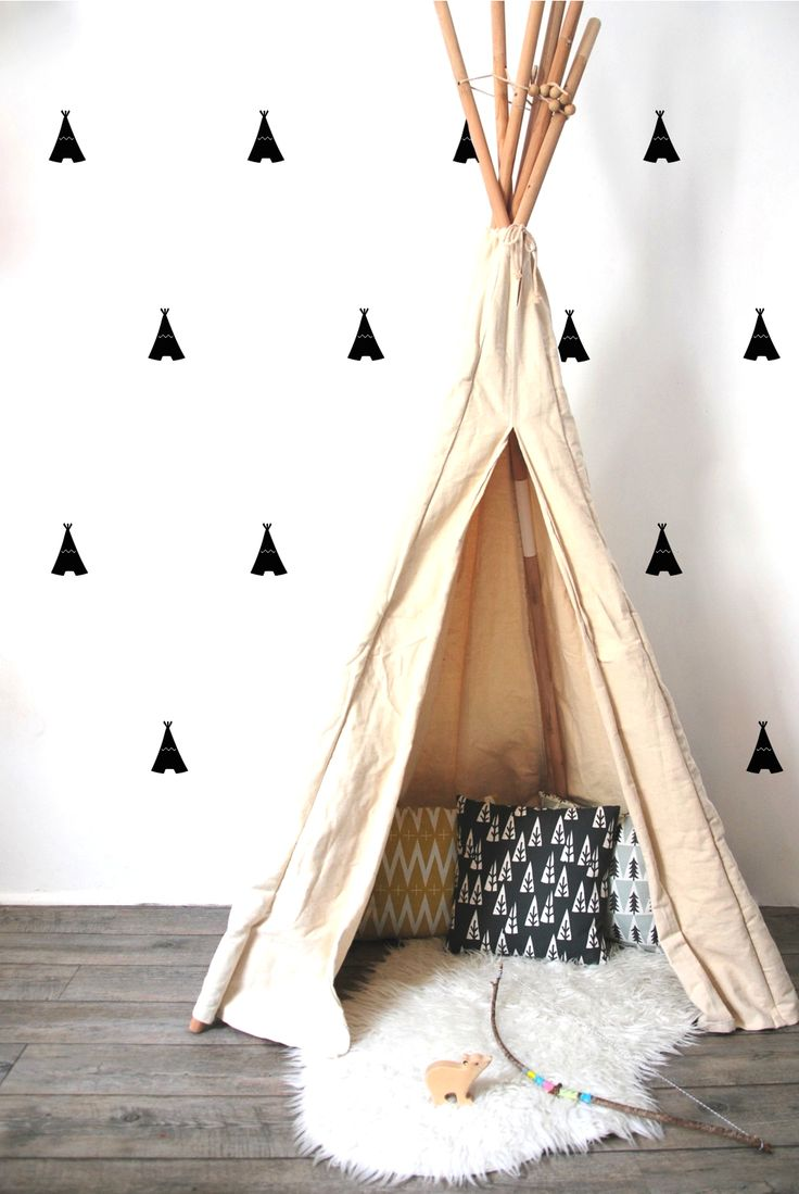 Indian tents wall stickers !