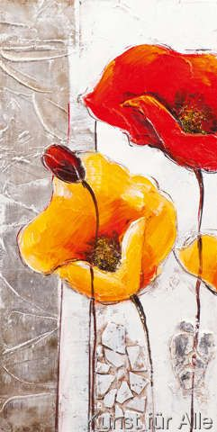 New Life Collection - Symphony of tulips in yellow and red I