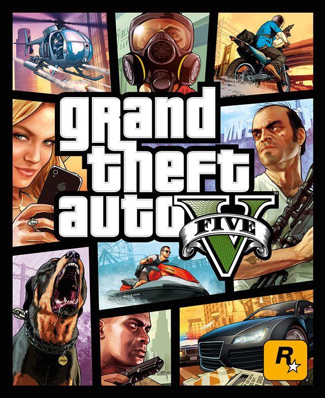 Rockstar Revelo El Cover Art De Grand Thef Auto V | DiosCaficho.Com