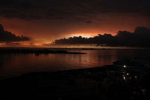 Sunset View @ Makassar |  Travel Guide to Sulawesi |  http://allindonesiatravel.com/
