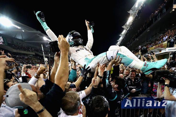 Formel-1-Finale: Nico Rosberg ist Weltmeister - SPIEGEL ONLINE - Sport