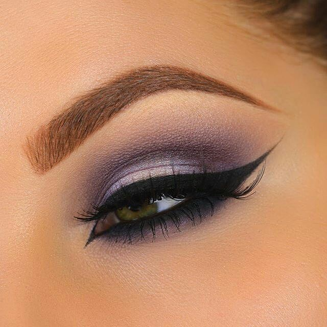 soft purple look with Makeup Geek