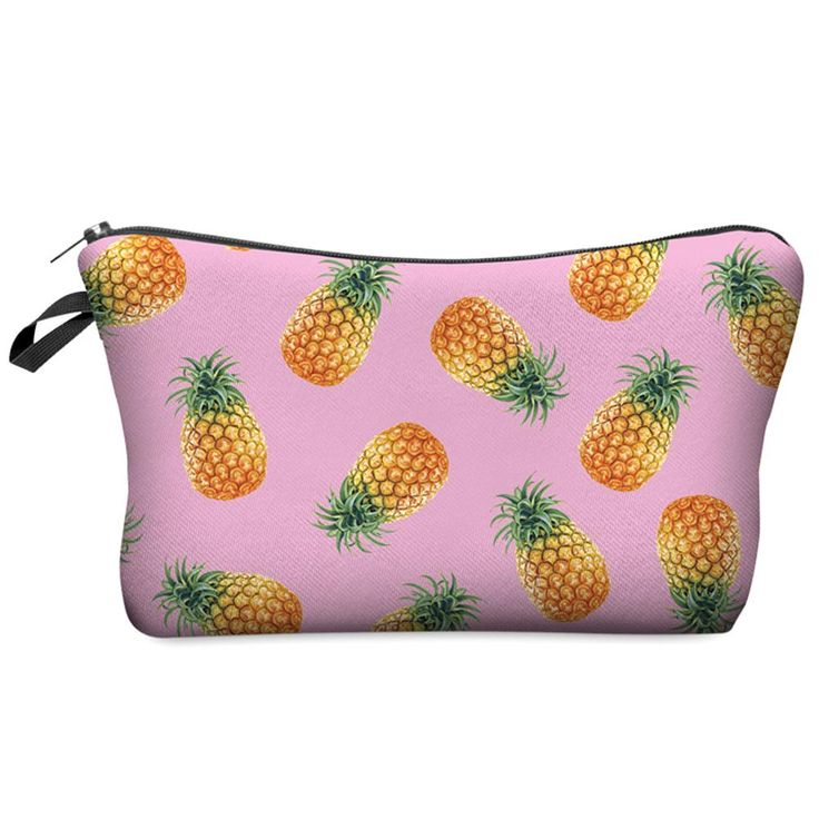 Small Cosmetic Bag 2016 3D Printing Pineapple Pink Women Fashion Brand Travel Makeup Case Christmas Gift H36♦️ SMS - F A S H I O N  http://www.sms.hr/products/small-cosmetic-bag-2016-3d-printing-pineapple-pink-women-fashion-brand-travel-makeup-case-christmas-gift-h36/ US $1.99
