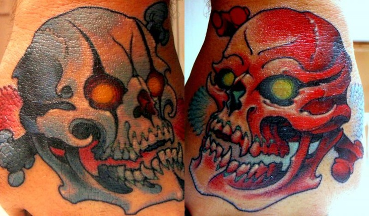 SKULLS - Grime  tattoo
