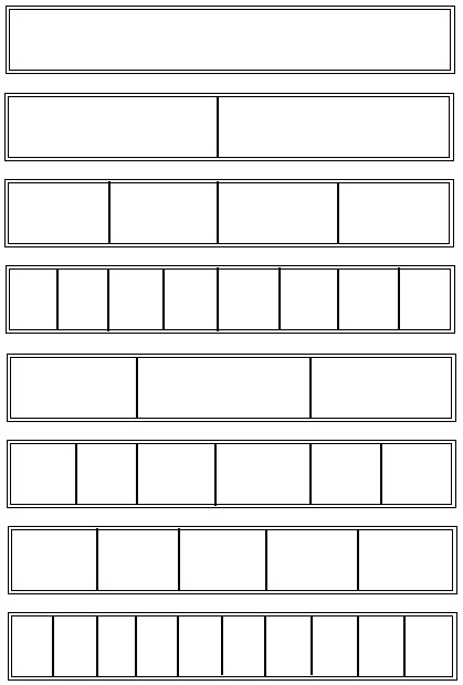 fraction wall printable coloring pages - photo#12