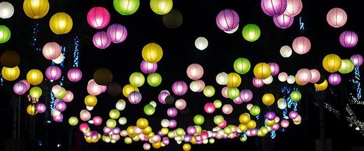 Beautiful paper lanterns, styling, wedding decoration Lampionnen huwelijk decora…