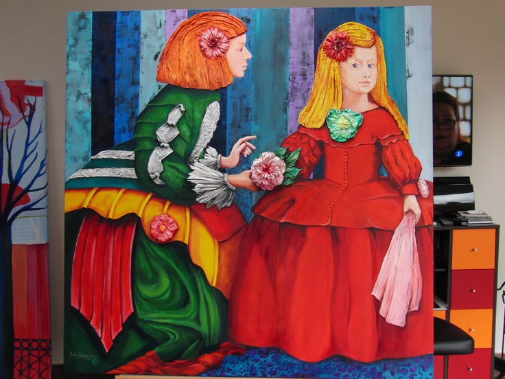 The latest addition to the Meninas - Art by Maite Rodriguez   http://maiterodriguez.es