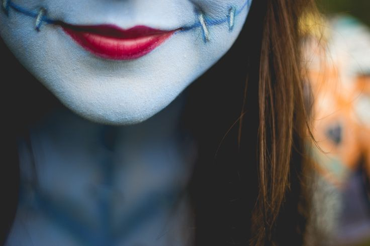 Sally Skellington Make Up  <3 Melina Souza - Serendipity Ariadne Cetrella - TudoMake