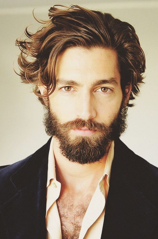 Pleasing 24 Best Images About Men Facial Hair Barbes On Pinterest Hairstyles For Women Draintrainus