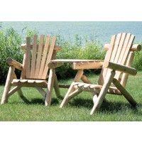 Contoured Comfort Log Visa Tete | Outdoor U0026 Patio Log Furniture