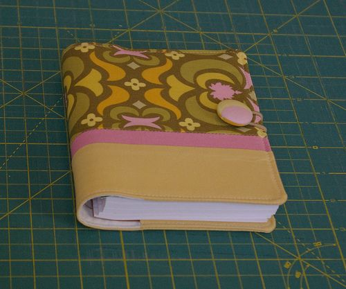 Covered Notebook with Matching Pen Tutorial | by small means