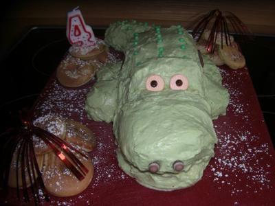 Rezept: Krokodil Kuchen Bild Nr. 2