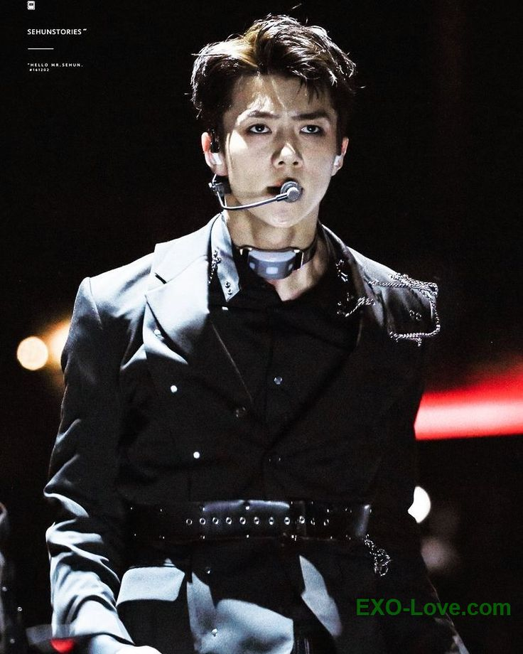 #Sehun's whole outfit kills me <3 #EXOLove   Be sure to check out our bio link for more EXO news/photos/etc