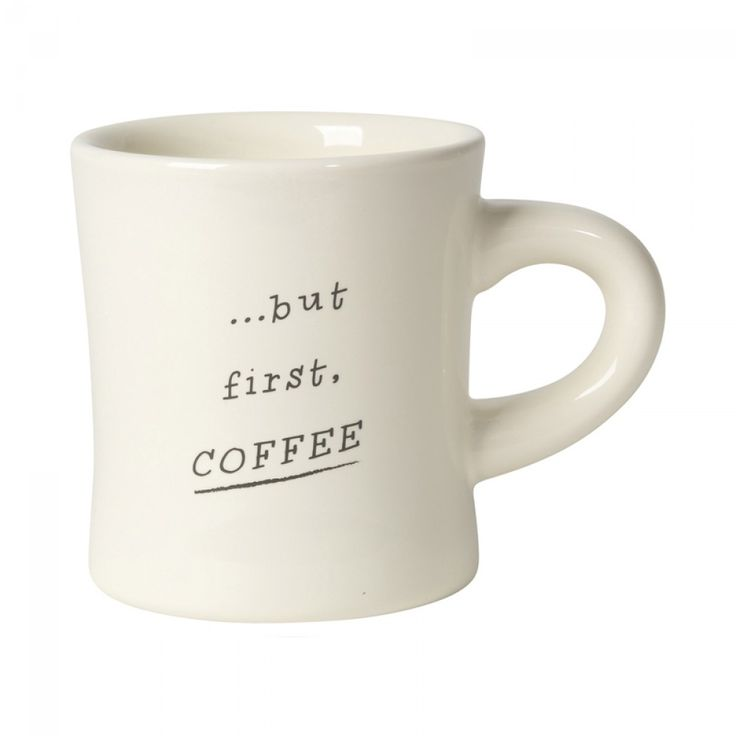 """Now Designs """"But First, Coffee"""" Mug 