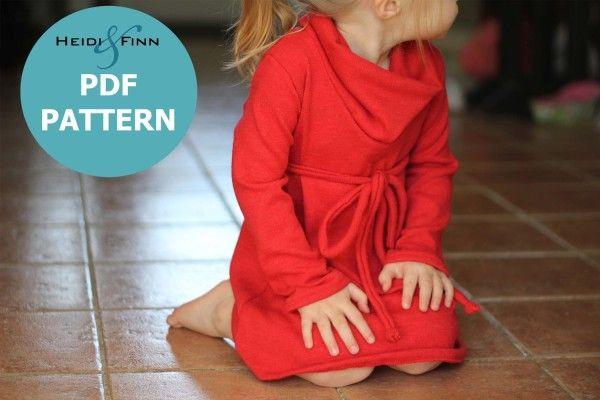 Patrones de ropa infantil en PDF