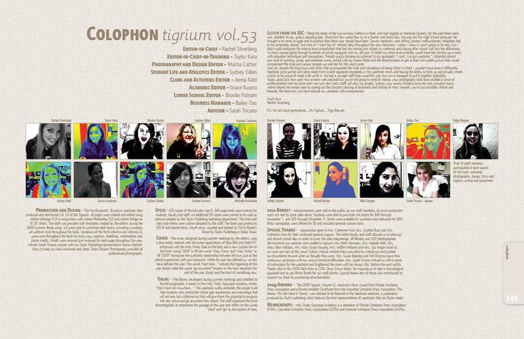 Understanding the importance of a colophon » walsworth | yearbook.